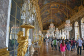 Hall of mirrors Versailles — 图库照片