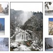 Terni photo  collage — Foto Stock