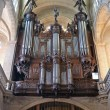 Great organ of Saint Etienne du Mont in Paris — Stock Photo