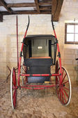 Ancient horse-drawn carriage — Stock Photo