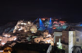 Matera at night — Stock Photo