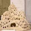 Matera tuff sculpture — Stock Photo