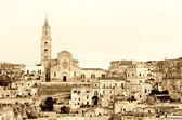 Matera ancient town — Stock Photo