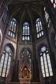 Absid kaple Notre Dame de Bonne Nouvelle — Stock fotografie