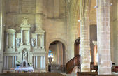 Interior of Saint Sulpice church in Pierrefonds — Stock Photo
