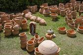 Ceramics exposition — Stock Photo