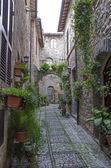 Alley in Spello — Stock Photo