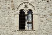 Trilobed window — Stock Photo