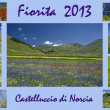 Castelluccio photo collage — Stock Photo