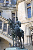 Prince Louis of Orleans statue — Stock Photo
