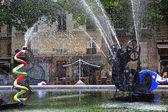 Stravinsky fountain in Paris — Stock Photo