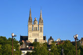 Angers cathedral — Stock Photo