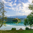 Lake Bled in HDR — Stock Photo