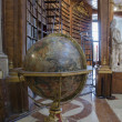 Old terrestrial globe — Stock Photo