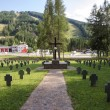 German war cemetery Semmering — Stock Photo