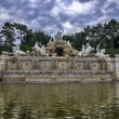 The Neptune fountain in Vienna — Lizenzfreies Foto