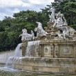 The Neptune fountain at Schonbrunn palace — Stock Photo