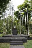 Monument to Karl Renner — Stok fotoğraf