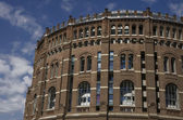 Gasometer in Vienna — Stock Photo