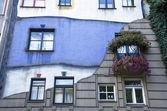 Hundertwasser Haus in Vienna — Stock Photo