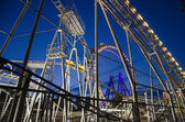 The Prater at night — Stock fotografie