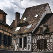 Auxerre half-timbered houses — Stock Photo #35463243