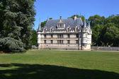замок азе ле ридо во франции — Стоковое фото