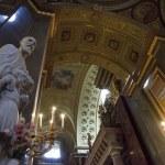 Saint Stephen Basilica Interior in Budapest, Hungary — Stock Photo