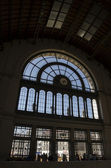 Ingresso della stazione ferroviaria di keleti di budapest — Foto Stock
