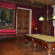 Billiard room in Azay-Le-Rideau castle — Stock Photo