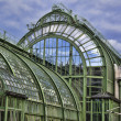 Roof of Butterfly house Schmetterlinghaus — Stock Photo