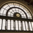 Stock Photo: Keleti railway station in Budapest