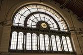 Keleti railway station in Budapest — Stock Photo