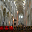 Stock Photo: Noyon cathedral nave