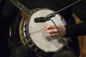 Gold Tone Irish Tenor Banjo — Stock Photo