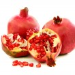 Ripe pomegranate fruit. — Stock Photo