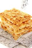 Torta napoleone. — Foto Stock