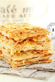 Cake of puff pastry. — Stock Photo