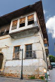 Wooden house in old Antalya.   — Stock Photo