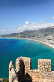 Ancient fortress in Alanya. — Stock Photo