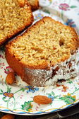 Orange cake with almonds. — Foto Stock