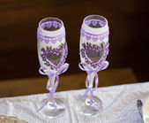 Wedding glass — Stockfoto