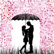 Young Couple in love — Stock Vector #29692989