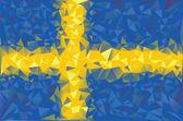 Flag Sweden. — Stock Vector