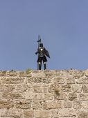 Medieval knight. — Stock Photo