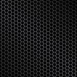 Hexagon metal background — Vetor de Stock  #4810079
