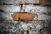 Grunge red brick — Stock fotografie