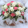 Stock Photo: Deluxe wedding bridal bouquet