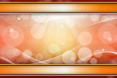 Magische lichte achtergrond met waterdruppels — Stockfoto