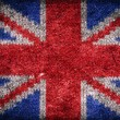 Grunge flag of the United Kingdom — Stock Photo